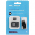 Pen Drive com Kit Dual Drive OTG 16Gb MC131 Multilaser